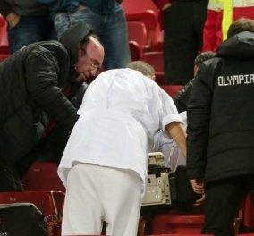 Θλίψη: Φίλαθλος του Ολυμπιακού πέθανε στο γήπεδο από καρδιά - Παρακολουθούσε το ντέρμπι με τον Παναθηναϊκό - Κυρίως Φωτογραφία - Gallery - Video