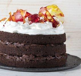 Άκης Πετρετζίκης: Θα σας μαγέψει αυτή η υπέροχη τούρτα με ζαχαρένιο γυαλί - Κυρίως Φωτογραφία - Gallery - Video