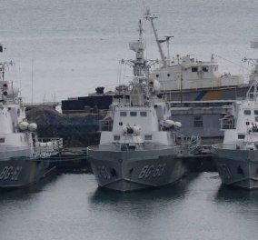Aυτό το βίντεο δείχνει καθαρά το θαλάσσιο επεισόδιο μεταξύ Ρωσίας και Ουκρανίας  - Κυρίως Φωτογραφία - Gallery - Video