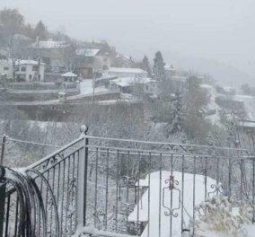 Λάρισα: Στα λευκά τα ορεινά χωριά - Υπέροχα τοπία! (Φώτο) - Κυρίως Φωτογραφία - Gallery - Video