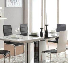 Ο Σπύρος Σούλης σου δείχνει πως να επιλέξεις την κατάλληλη τραπεζαρία για το σπίτι σου - Κυρίως Φωτογραφία - Gallery - Video