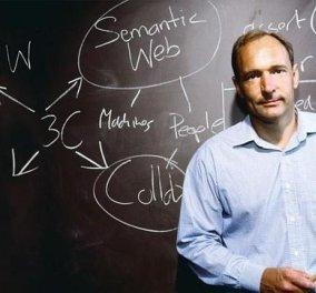 Αυτός ο άνδρας είναι ο «πατέρας» του web: Δείτε πώς κατακεραύνωσε Google και Facebook ότι καταστρέφουν το δημιούργημά του (Φωτό & Βίντεο) - Κυρίως Φωτογραφία - Gallery - Video
