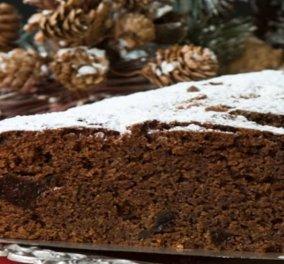 Στέλιος Παρλιάρος: Σοκολατένια βασιλόπιτα με δαμάσκηνα - Μια διαφορετική εκδοχή για το πιο τυχερό γλυκό του χρόνου!  - Κυρίως Φωτογραφία - Gallery - Video