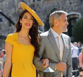 Πωλείται το διάσημο κίτρινο φόρεμα της Αμάλ Αλαμουντίν που φόρεσε στον γάμο του Πρίγκιπα Χάρι και της Μέγκαν Μάρκλ - Κυρίως Φωτογραφία - Gallery - Video