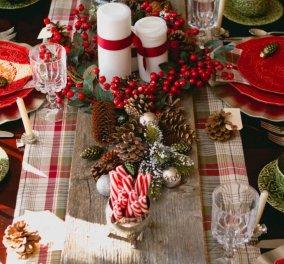 30+ εξαίσιες - εύκολες Χριστουγεννιάτικες ιδέες για την διακόσμηση του τραπεζιού σας - Φώτο  - Κυρίως Φωτογραφία - Gallery - Video