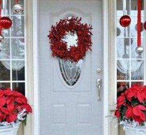 Χριστούγεννα: 40 ιδέες διακόσμησης της εισόδου του σπιτιού σας - Από εκεί αρχίζει η γιορτή (φωτό)  - Κυρίως Φωτογραφία - Gallery - Video