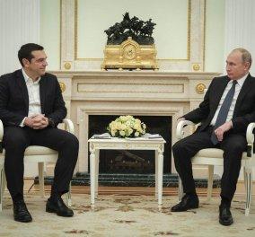 Το μήνυμα Τσίπρα σε Πούτιν: Σταθερή και δυναμική η σχέση Ελλάδας – Ρωσίας & αναγκαία η συνεργασία των δύο χωρών (βίντεο) - Κυρίως Φωτογραφία - Gallery - Video