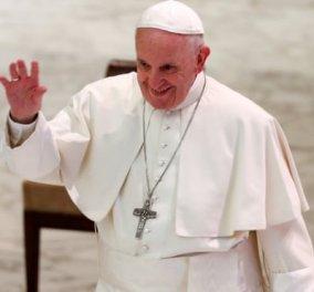 """Πάπας Φραγκίσκος: """"Είναι μόδα οι gay και οι κληρικοί δυστυχώς επηρεάζονται"""" - Κυρίως Φωτογραφία - Gallery - Video"""