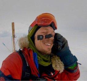 Κόλιν Ο' Μπρέιντι: Ο πρώτος άνθρωπος που διέσχισε την Ανταρκτική με σκι - Κυρίως Φωτογραφία - Gallery - Video