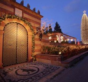 Χίος: Το πιο όμορφο αρχοντικό του Κάμπου στολίστηκε με 177.000 φωτάκια για τα Χριστούγεννα (βίντεο) - Κυρίως Φωτογραφία - Gallery - Video