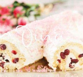 Ντίνα Νικολάου: Γιορτινός Χριστουγεννιάτικος κορμός για να γλυκάνετε τους αγαπημένους σας - Κυρίως Φωτογραφία - Gallery - Video