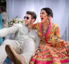 Απίθανη φωτογραφία από το Bollywood γάμο της χρονιάς της 35χρονης Πριγιάνκα Τσόπρα με τον 27χρονο έρωτα της - Κυρίως Φωτογραφία - Gallery - Video