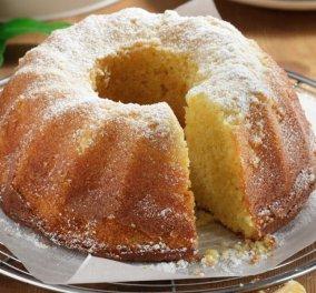 Ένα απίθανο κέικ μανταρίνι σας προτείνουμε σήμερα: Αφράτο και μυρωδάτο!   - Κυρίως Φωτογραφία - Gallery - Video