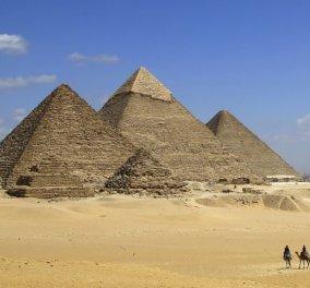 Ζευγάρι γδύθηκε στην πυραμίδα του Χέοπα – Προκάλεσαν την οργή των Αιγυπτίων - Κυρίως Φωτογραφία - Gallery - Video