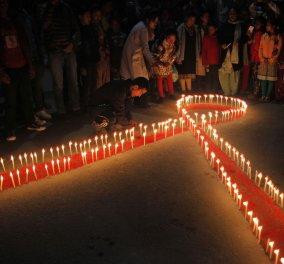 Παγκόσμια Ημέρα κατά του AIDS: Αγρυπνίες και συγκεντρώσεις σε όλο τον κόσμο - Κυρίως Φωτογραφία - Gallery - Video