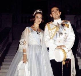 Vintage pics: Σπάνια ενσταντανέ από τον γάμο του Βασιλιά Κωνσταντίνου με την Άννα – Μαρία! - Κυρίως Φωτογραφία - Gallery - Video