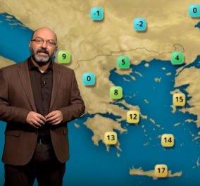 Σάκης Αρναούτογλου: Τι καιρό θα έχουμε τα Χριστούγεννα – Η πρόβλεψη του για τις επόμενες μέρες - Κυρίως Φωτογραφία - Gallery - Video