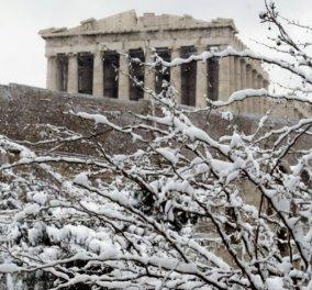 Έκτακτο δελτίο καιρού: Πτώση της θερμοκρασίας έως και 10°C - Χιόνια ακόμα και στην Αττική - Κυρίως Φωτογραφία - Gallery - Video