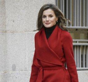 Οι 30 τοπ εμφανίσεις της -fashion icon- βασίλισσας Λετίσια  της Ισπανίας (φώτο) - Κυρίως Φωτογραφία - Gallery - Video
