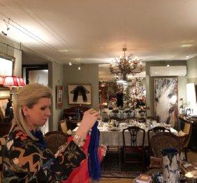 Όταν η οικοδέσποινα σου είναι καλλιτέχνης η διακόσμηση και το Art de la table σε αφήνουν με το στόμα ανοικτό! (φώτο) - Κυρίως Φωτογραφία - Gallery - Video
