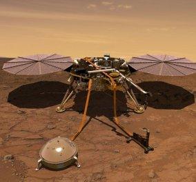 Για πρώτη φορά στην ιστορία το InSight κατέγραψε πως ακούγεται ο άνεμος στον Άρη (βίντεο) - Κυρίως Φωτογραφία - Gallery - Video
