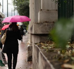 """Καιρός: Ήλιος """"με δόντια"""" στην Αττική - Που θα χρειαστείτε ομπρέλα - Κυρίως Φωτογραφία - Gallery - Video"""