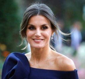 Η ατελείωτη γκαρνταρόμπα μιας Βασίλισσας: Η Λετίσια της Ισπανίας με φόρεμα κινέζικο, μαύρη τουαλέτα και καμηλό παλτό - Κυρίως Φωτογραφία - Gallery - Video