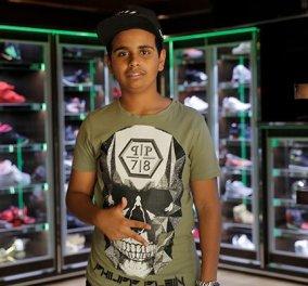 Ο πιο νέος δισεκατομμυριούχος και η ατέλειωτη  συλλογή παπουτσιών του: Aγγίζουν το 1 εκ.  (φωτό & βίντεο) - Κυρίως Φωτογραφία - Gallery - Video