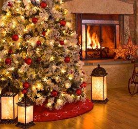 Οι οδηγίες της πυροσβεστικής για ασφαλές χριστουγεννιάτικο δέντρο: Τα φώτα - το τζάκι... - Κυρίως Φωτογραφία - Gallery - Video
