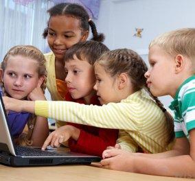 Οι οθόνες των ηλεκτρονικών υπολογιστών βλάπτουν τον εγκέφαλο των παιδιών - Κυρίως Φωτογραφία - Gallery - Video