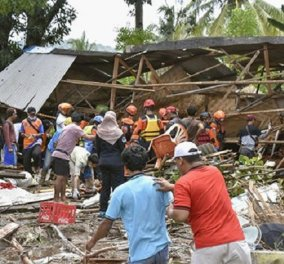 Ισχυρός σεισμός 7 βαθμών στις Φιλιππίνες - Ήρθη η προειδοποίηση για τσουνάμι (βίντεο)  - Κυρίως Φωτογραφία - Gallery - Video