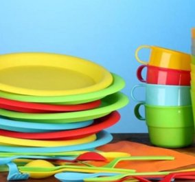 Good news η «ιστορική» απόφαση της Ε.Ε.: Απαγορεύονται τα πλαστικά μιας χρήσης - Πιατάκια, κουταλοπίρουνα τέλος από τα ράφια - Κυρίως Φωτογραφία - Gallery - Video