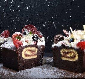 Ο Άκης Πετρετζίκης δημιουργεί γεμιστό κέικ βανίλια σοκολάτα και μας φτιάχνει τη διάθεση (βίντεο) - Κυρίως Φωτογραφία - Gallery - Video