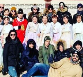 Ο Σάκης και η Χριστίνα Τανιμανίδη σε φανταστικό χριστουγεννιάτικο ταξίδι στη Νότια Κορέα - Με τους κουμπάρους τους Μαρίνα Βερνίκου και Μίλτο (φώτο-βίντεο) - Κυρίως Φωτογραφία - Gallery - Video