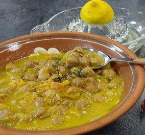 Αργυρώ Μπαρμπαρίγου: Παραδοσιακή σούπα ρεβύθια με λεμόνι & ταχίνι – Κάνει αυτό το πιάτο με τα όσπρια μοναδικό - Κυρίως Φωτογραφία - Gallery - Video