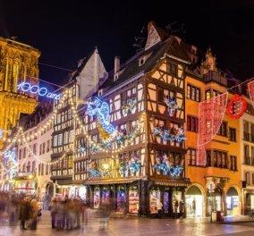 Στρασβούργο: Δέντρο 30 μέτρων, άπειρα λαμπιόνια & εγκαίνια της 449ης χριστουγεννιάτικης αγοράς του (φωτό) - Κυρίως Φωτογραφία - Gallery - Video