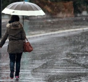 Καιρός: Μη βγείτε χωρίς ομπρέλα -  Αναμένονται τοπικές βροχές και  καταιγίδες - Κυρίως Φωτογραφία - Gallery - Video