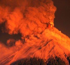 Εκπληκτικό βίντεο δείχνει την στιγμή έκρηξης ηφαιστείου στην Γουατεμάλα - Κυρίως Φωτογραφία - Gallery - Video