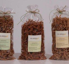 Made in Greece «Το Στάχυ»: Εξαιρετικά ζυμαρικά από δίκοκκο σιτάρι αλεσμένα σε παραδοσιακό πετρόμυλο - Κυρίως Φωτογραφία - Gallery - Video