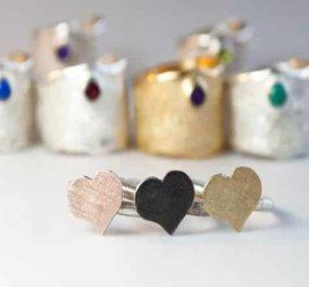 Handmade with love from Greece: Τα υπέροχα κοσμήματα από ασήμι της Ελένης Παντάκη μοναδικά κι εμπνευσμένα από την Ελλάδα  - Κυρίως Φωτογραφία - Gallery - Video
