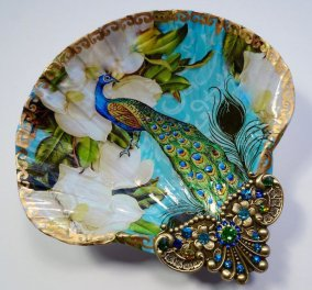 Απίστευτα έργα τέχνης: Καλλιτέχνιδα βρίσκει χαμένα κοχύλια & τα μετατρέπει σε πρωτότυπα διακοσμητικά πιάτα για το σπίτι σας  - Κυρίως Φωτογραφία - Gallery - Video