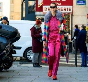 Street Style : Τα πιο περίεργα, θαυμάσια ή εξωφρενικά looks των γυναικών που παρακολούθησαν την εβδομάδα Haute Couture (φώτο) - Κυρίως Φωτογραφία - Gallery - Video