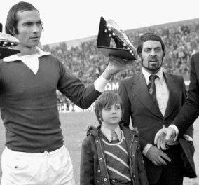 COSMOTE HISTORY HD: Ο «Ψηλός» του ελληνικού ποδοσφαίρου Αντώνης Αντωνιάδης στο τελευταίο επεισόδιο της σειράς «Θρύλοι των γηπέδων»  - Κυρίως Φωτογραφία - Gallery - Video