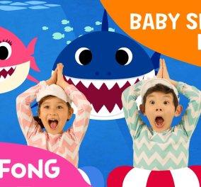 Baby Shark: Το παιδικό τραγούδι που έχει γίνει viral - Έχει πάνω από 2,2 δισεκατομμύρια προβολές στο YouTube (Βίντεο) - Κυρίως Φωτογραφία - Gallery - Video