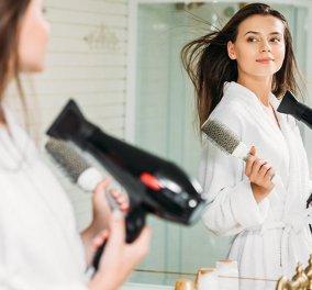 Ταλαιπωρείς τα μαλλιά σου με το πιστολάκι; 6+1 συμβουλές για να επαναφέρεις την χαμένη λάμψη τους   - Κυρίως Φωτογραφία - Gallery - Video