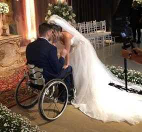 Ποιον να θαυμάσεις περισσότερο; Τον γαμπρό, τη νύφη, τους φίλους; Ο πιο συγκινητικός γαμήλιος χορός! (φωτό & βίντεο) - Κυρίως Φωτογραφία - Gallery - Video