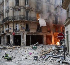 Ισχυρή έκρηξη σε φούρνο στο κέντρο του Παρισιού -Δεκάδες τραυματίες (φώτο-βίντεο) - Κυρίως Φωτογραφία - Gallery - Video