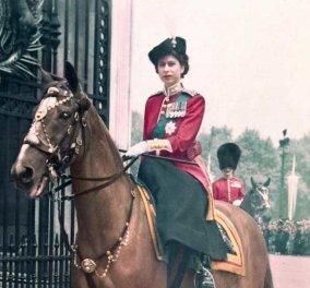Vintage: Σπάνια φωτό της 9χρονης Βασίλισσας Ελισάβετ πάνω σε άλογο – Η αδυναμία της για τα ζώα - Κυρίως Φωτογραφία - Gallery - Video