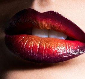 Το πιο μαύρο κόκκινο όμπρε στόμα δια χειρός του ζωγράφου-μακιγιέρ Αχιλλέα Χαρίτου (Φωτό) - Κυρίως Φωτογραφία - Gallery - Video