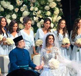 Γάμος αστραπή! Χωρίζει ο βασιλιάς της Μαλαισίας από την 25χρονη Ρωσίδα καλλονή – Είναι έγκυος; (φωτό) - Κυρίως Φωτογραφία - Gallery - Video